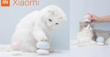 oferta %C2%A1Cepillo masajeador para mascotas Xiaomi barato SuperChollos