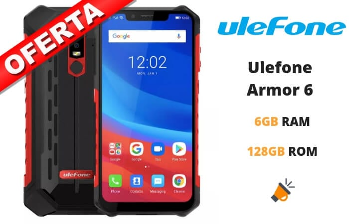 oferta Ulefone Armor 6 barato SuperChollos