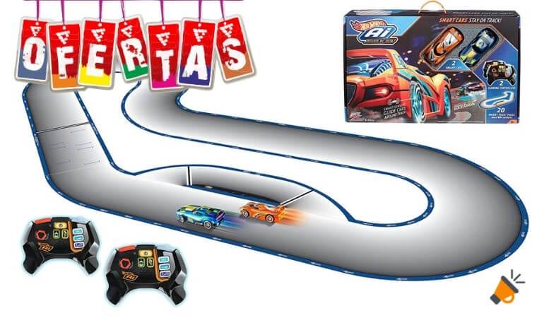 oferta Circuito de Carreras I.A. Hot Wheels barato SuperChollos