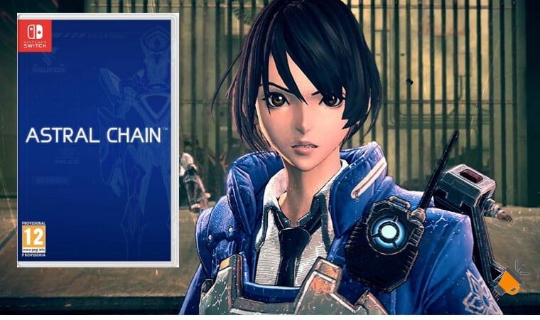 OFERTA Astral Chain para Nintendo Switch BARATO SuperChollos