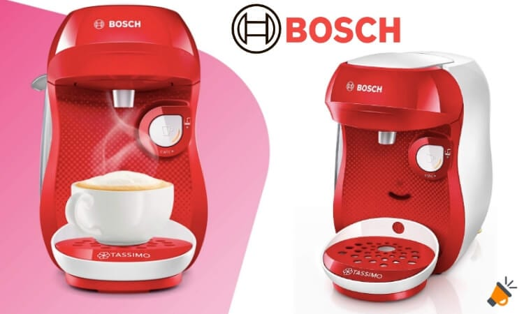 oferta Cafetera de ca%CC%81psulas Bosch Tassimo Happy barata SuperChollos