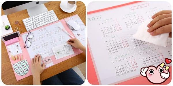 Calendario organizador de escritorio barato SuperChollos