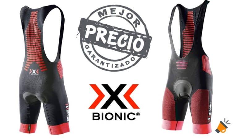 oferta Culote de ciclismo X Bionic Bike Effektor barato SuperChollos