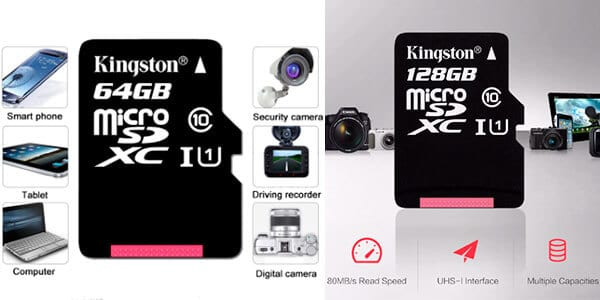 Tarjeta microSD Kingston barata SuperChollos