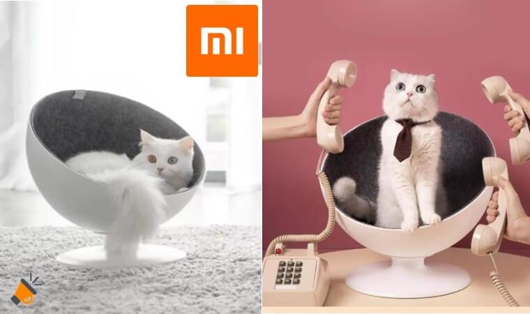oferta Cama para gatos Xiaomi Youpin Furrytail Boss barata SuperChollos