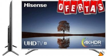 oferta Hisense H65A6500 smart tv barata SuperChollos