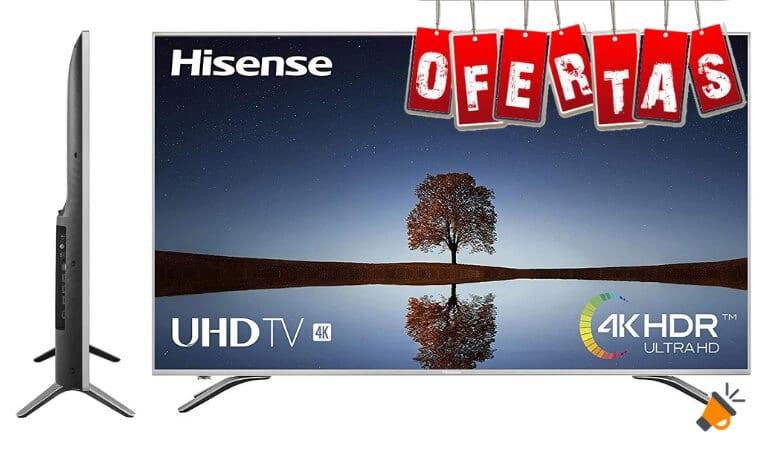 oferta Hisense H65A6500 smart tv barata SuperChollos