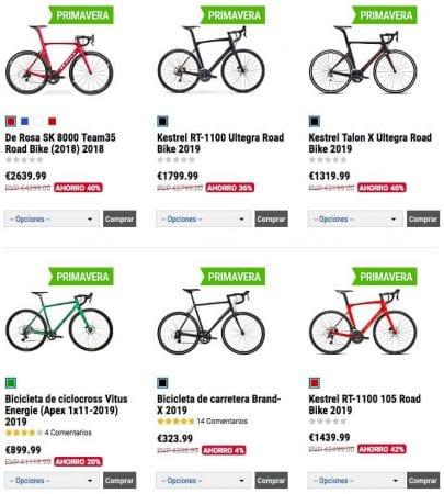 liquidacion bicicletas SuperChollos