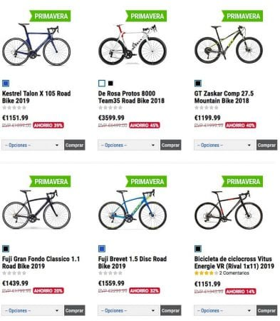 liquidacion bicicletas2 SuperChollos