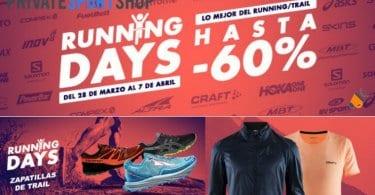 Running Days Hasta 60 DTO. SuperChollos