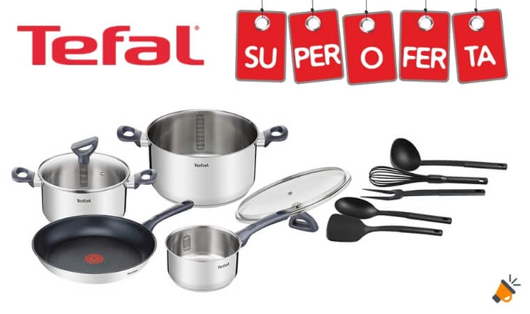 OFERTA Tefal Daily Cook SET DE COCINA BARATO SuperChollos