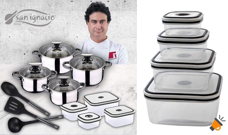 OFERTA San Ignacio Premium SET DE COCINA BARATO SuperChollos