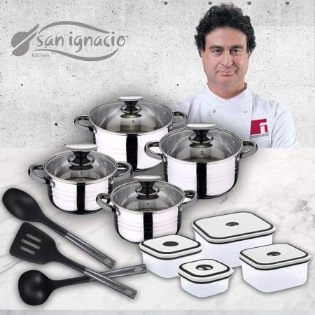Set de cocina San Ignacio Premium barato SuperChollos