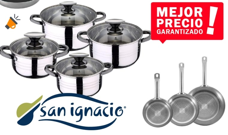 oferta San Ignacio Bateri%CC%81a De Cocina barata SuperChollos
