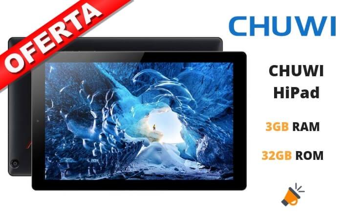 oferta CHUWI HiPad barata SuperChollos