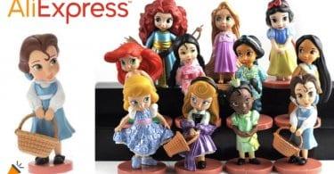 oferta mini figuras de princesas Disney baratas SuperChollos