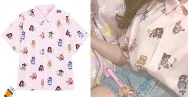 oferta Camisa de Sailor Moon barata SuperChollos