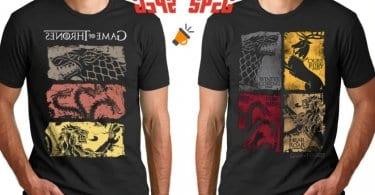 oferta camiseta de Juego de Tronos baratas SuperChollos