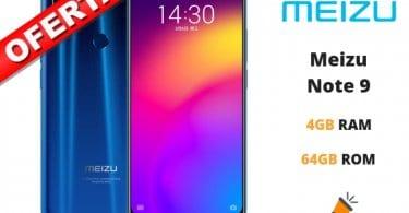 oferta Meizu Note 9 barato SuperChollos