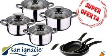 oferta San Ignacio bateria de cocina barata1 SuperChollos