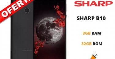 oferta SHARP B10 barato SuperChollos