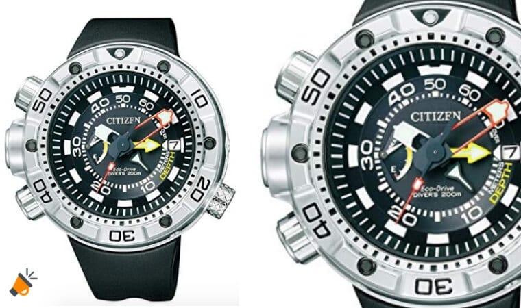oferta Reloj de buceo Citizen Promaster Marine barao SuperChollos