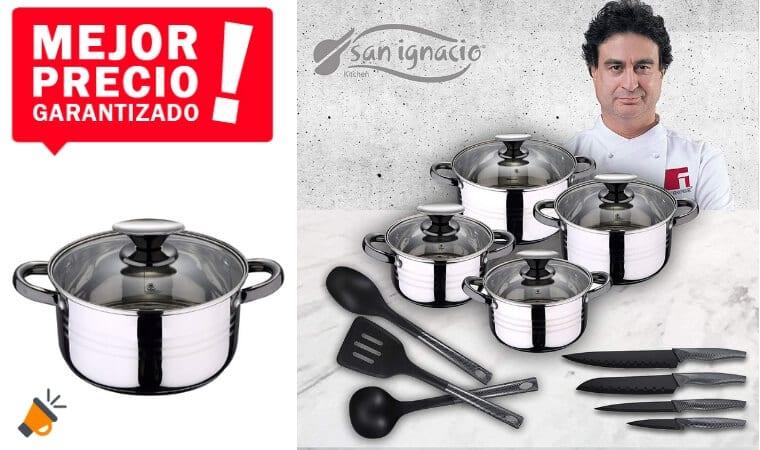 OFERTA San Ignacio Premium SET DE COCINA BARATO1 SuperChollos