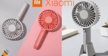 oferta Mini ventilador Xiaomi barato SuperChollos