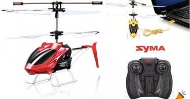 oferta Mini helico%CC%81ptero RC Syma W25 barato SuperChollos