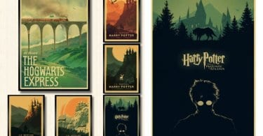 oferta Carteles de Harry Potter baratos SuperChollos