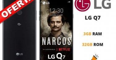 oferta LG Q7 barato SuperChollos