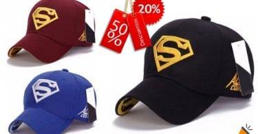 oferta Gorra de Superman barata SuperChollos