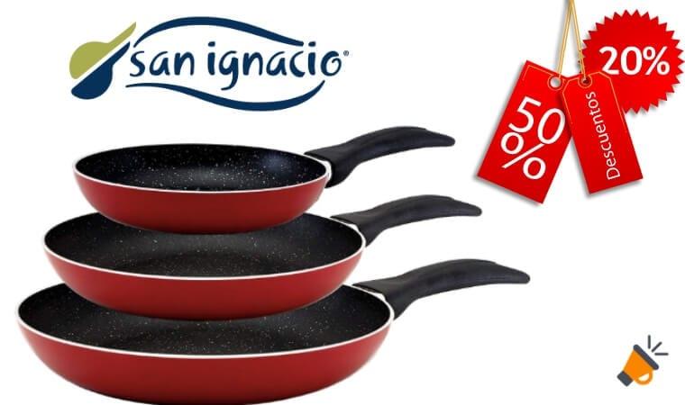 oferta sartenes San Ignacio baratas SuperChollos