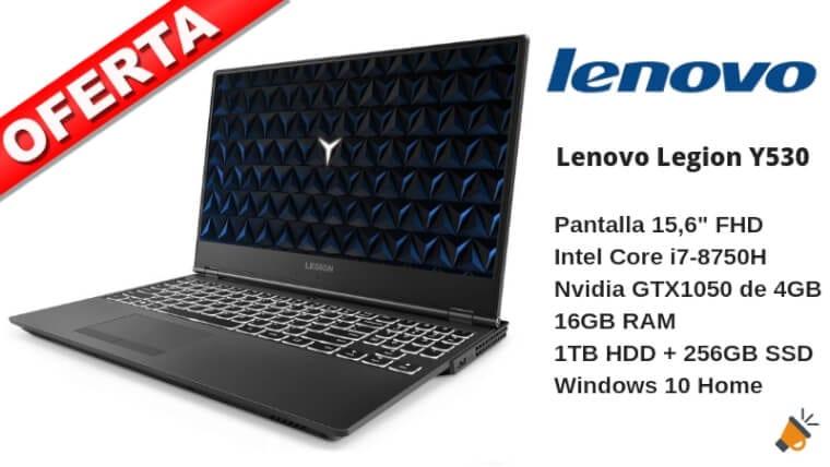 oferta Lenovo Legion Y530 barato SuperChollos