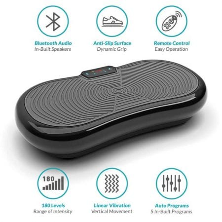 Plataforma vibratoria Bluefin Fitness barata SuperChollos