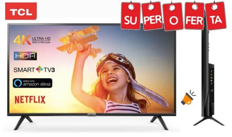 oferta TCL 65DP602 Smart TV barata SuperChollos