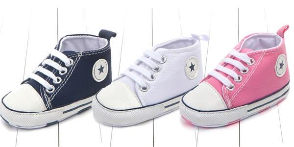 Zapatillas Converse para bebe%CC%81 baratas SuperChollos