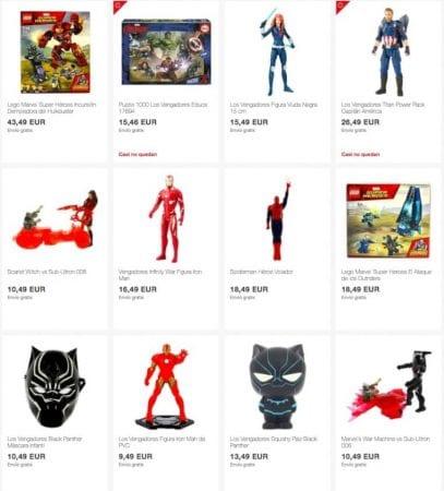 juguetes vengadores SuperChollos