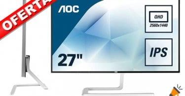 oferta AOC Monitores Q2781PQ barato SuperChollos