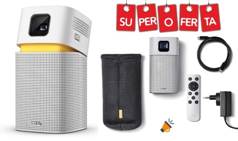 OFERTA proyector portatil benq barato SuperChollos