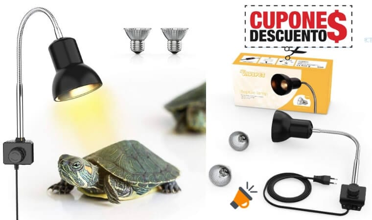 oferta La%CC%81mpara halo%CC%81gena para reptiles barata SuperChollos
