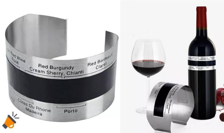 oferta Pulsera termo%CC%81metro para vino barato SuperChollos