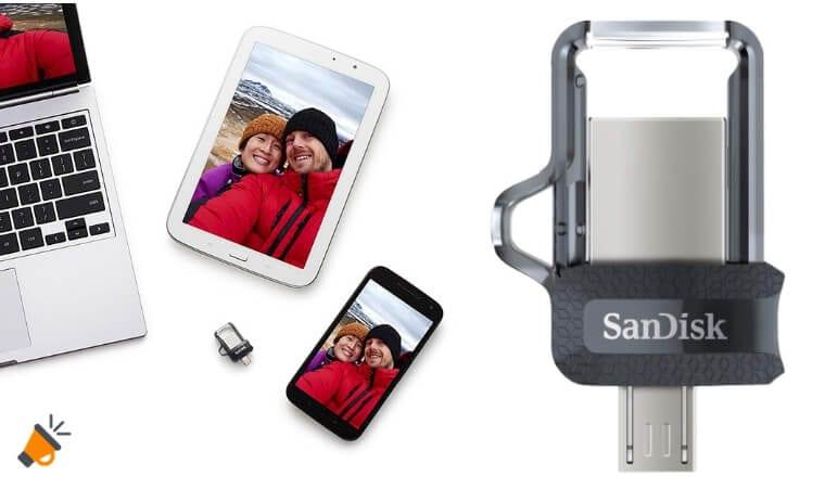 oferta Pendrive SanDisk Ultra Dual 32gb barato SuperChollos