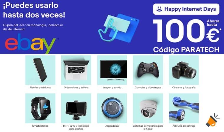 HAPPY INTERNET DAYS EBAY SuperChollos