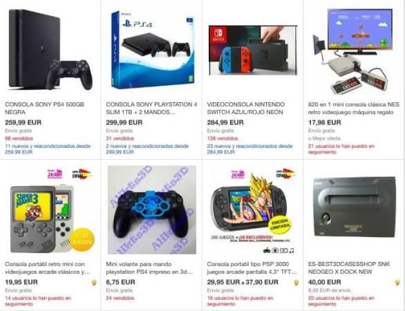 consolas ebay SuperChollos