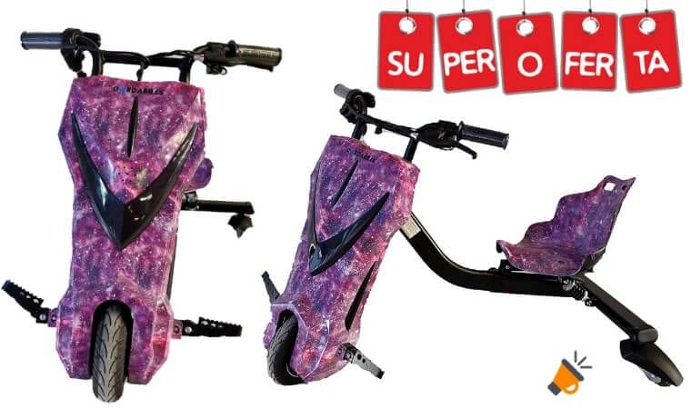 oferta Oviboard Triciclo barato SuperChollos