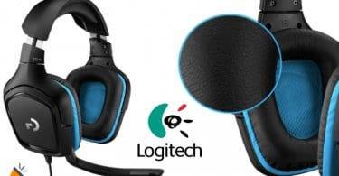 oferta Logitech G432 auriculares baratos SuperChollos