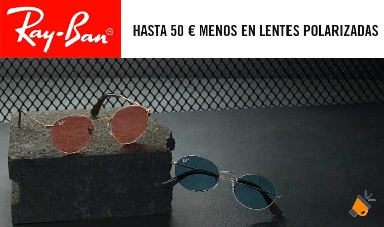 oferta lentes polarizadas ray ban baratas SuperChollos