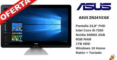 oferta ASUS ZN241ICGK ordenador barato SuperChollos