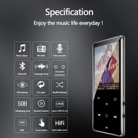 Reproductor de MP3 BENJIE barato SuperChollos